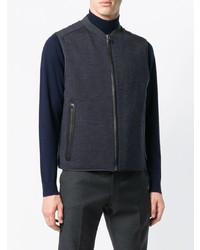 Salvatore Ferragamo Zipped Up Vest