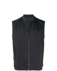 Salvatore Ferragamo Zipped Up Vest