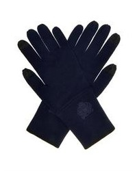 Kenzo Embroidered Wool Gloves