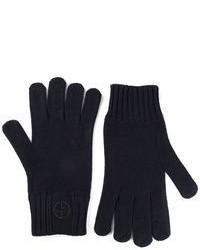 Giorgio Armani Logo Gloves