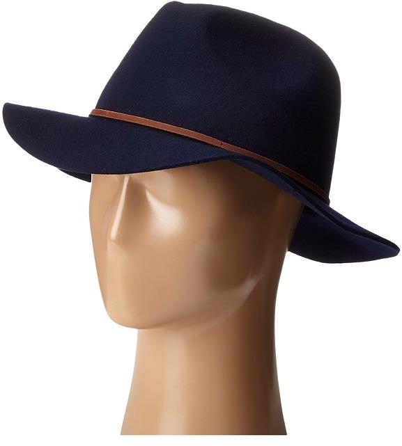 59de6b10b2965 ... sale brixton brixton wesley fedora traditional hats 1a459 46b95