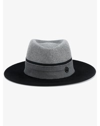 Maison michel thadee bicolour wool fedora medium 796554