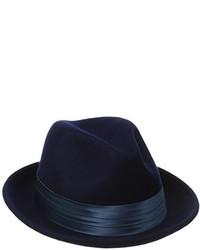 Stacy Adams Crushable Wool Felt Snap Brim Fedora Hat