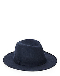 Saks Fifth Avenue Wool Medium Brim Hat