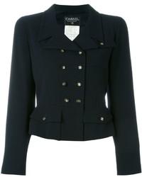 Chanel Vintage Branded Button Jacket