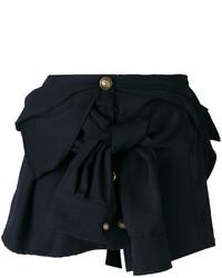 Faith Connexion Button Detail Bow Mini Skirt
