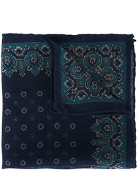 Canali Patterned Pocket Handkerchief