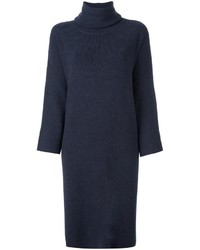 Dusan Turtleneck Shift Dress