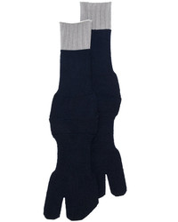 Maison Margiela Contrast Trim Tabi Socks