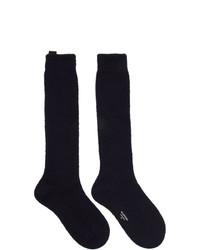 Valentino Navy Garavani Undercover Edition Socks