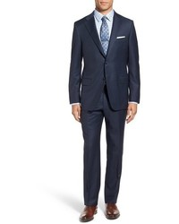 Beacon classic fit check wool suit medium 842240