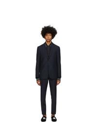 Burberry Blue Slim Suit