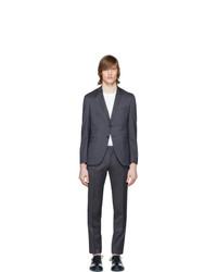BOSS Blue Wool Reymond And Wenton Suit