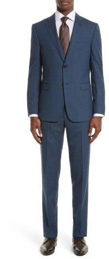 Z Zegna Drop 7 Trim Fit Solid Wool Silk Suit | Where to buy & how ...