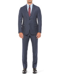 Emporio Armani G Fit Microdot Wool Suit