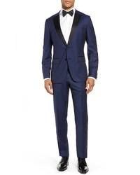 BOSS Halvengentry Slim Fit Wool Tuxedo