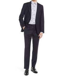 BOSS Hovegivon Slim Fit Wool Suit