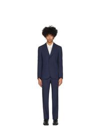 Maison Margiela Navy Extra Fine Wool Suit