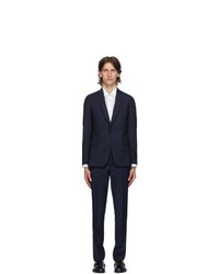 Paul Smith Navy Wool Mohair Suit