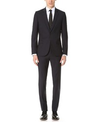 Paul Smith Ps By Mid Fit Wool Nested Suit
