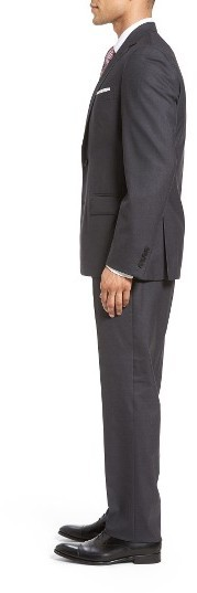 096b881a875f Nordstrom Shop Tech Smart Trim Fit Solid Stretch Wool Travel Suit, $499 |  Nordstrom | Lookastic.com
