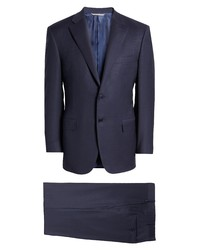Canali Sienna Soft Classic Fit Stretch Wool Suit