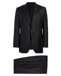 Ermenegildo Zegna Trofeo Classic Fit Navy Wool Suit