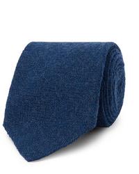 Lardini 8cm Wool Flannel Tie