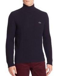 Lacoste Long Sleeve Turtleneck Sweater