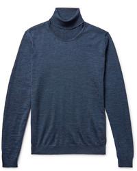 Hugo Boss Musso Mlange Merino Wool Rollneck Sweater