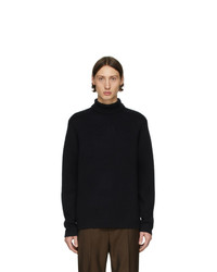 Tiger of Sweden Navy Ballast Turtleneck