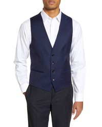 BOSS Hugeweste Solid Wool Vest
