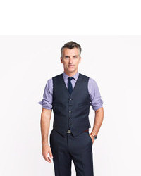 J.Crew Ludlow Suit Vest In Italian Worsted Wool