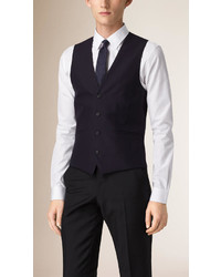 Burberry Slim Fit Wool Waistcoat
