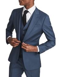 Reiss Static Solid Wool Vest