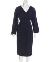 Sofie D'hoore Wool Midi Dress