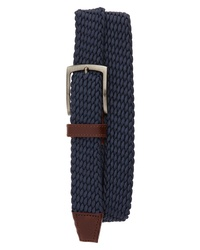 Johnston & Murphy Stretch Knit Belt