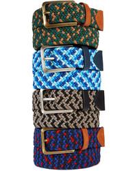 Tommy Hilfiger Webbed Elastic Braided Belt