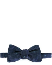 Alexander McQueen Woven Skull Bow Tie