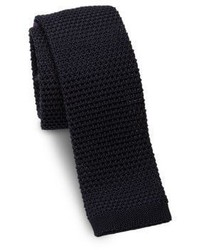 Ralph Lauren Woven Silk Square End Slim Tie