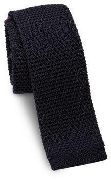 ... Ralph Lauren Woven Silk Square End Slim Tie