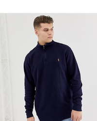 Navy Ralph Polo Men's LaurenFashion Sweaters Zip Neck By exBoWrdC