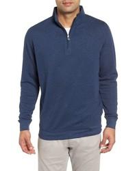 Peter Millar Comfort Interlock Quarter Zip Pullover