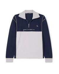 ALEXACHUNG Cotton Blend Jersey Sweatshirt