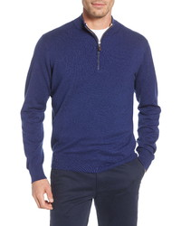 Peter Millar Crown Quarter Zip Pullover Sweater