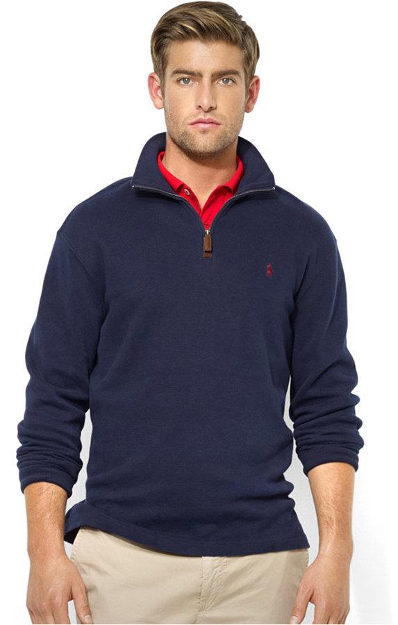 ... Polo Ralph Lauren French Rib Half Zip Pullover Sweater