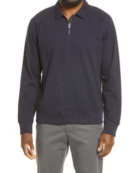 Vince French Terry Quarter Zip Pullover