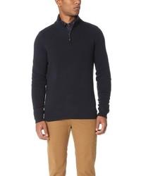 Ben Sherman Half Zip Funnel Neck Sweater