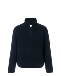 AMI Alexandre Mattiussi Half Zipped Sweatshirt