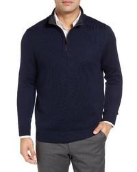 Merino wool quarter zip sweater medium 1026107